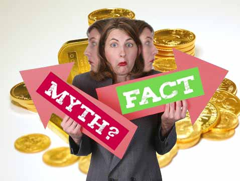 Biggest Myths About Gold, Debunked